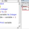 VBA 変数宣言はIfやFor等のコードブロック中に書いても機能する