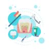 妊娠中期、アメリカで歯科検診へ。