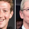 フェイスブックのビジネスモデルを巡り、ザッカーバーグとアップルCEOのクックが応酬