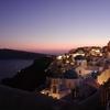 世界一の夕日 サントリーニ島は夕日も夜景も絶景