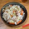 ソーミンチャンプルー そうめんと野菜を美味しく食べる パパ飯4