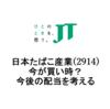 【日本たばこ産業(2914)】今が買い時か?今後の配当を考える