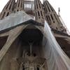 バルセロナでサクラダファミリアを観光