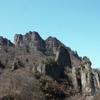 おどろおどろしい奇岩の山、妙義山と石門 (群馬)