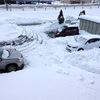 大雪の後の初出勤
