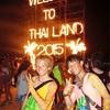 世界一周11日目  タイ  〜世界三大レイブの1つ、パンガン島のフルムーンパーティーで年越し!そして大事件発生…〜