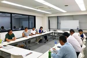 京都府古民家再生協会8月例会でした。