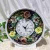 華やかインテリア!手作り花時計🌸