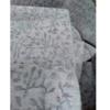 着物生地(311)草花模様織り出し小千谷紬着尺反物