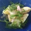 「紫蘇とじゃがいも、新生姜の和物」レシピ