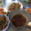 幸運な病のレシピ( 1005 )朝:鳥レバのしぐれ煮、牛肉の青椒肉絲風、厚揚げ挽き肉、鮭