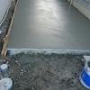 外構工事20日目~ついにコンクリートが流し込まれていました!