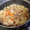 幸運な病のレシピ( 996 )朝:煮しめ、味噌汁(仕立て直し)、鮭