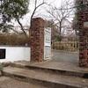 梅ポテチと櫻守公園で記念写真を撮った。そして梅子とのお別れ・・・
