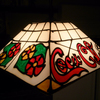 Coca-Cola Tiffany Hanging Lamp #1