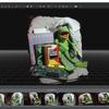 3DF Zephyrで3Dモデルを作成する その2(テクスチャ付メッシュの生成)