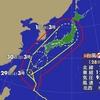 台風24号 あす沖縄・奄美へ