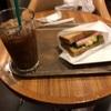 モリバコーヒーにて朝食。