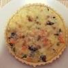 【幸せホルモン】牛乳、卵、チーズを使って鮭とほうれん草のキッシュを作り方。