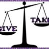 【さようなら Give & Take ようこそ Give & Give】