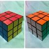 完・ルービックキューブ!パズルは脳にいいらしい。