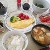 オムレツ定食(実家)