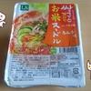 韓国のお米ヌードル(キムチ味)を食べるよ。