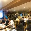勁草塾「文庫カフェの会」で、中林美恵子先生の「トランプ大統領再選への道のり」を聞く。