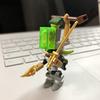 最近のクルーが作ったレゴ