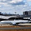キャセイパシフィック航空 エアバス A 350-900. B-LRG. の飛来