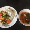 タイ風 野菜と鶏肉のココナツミルク炒めのレシピ