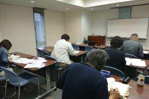 伝統的構法による木造建築物状況調査技術者講習を開催しました。