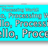 Processingで縁取り文字
