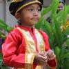 【スマトラの民族衣装】多民族都市メダンでのファッションショー