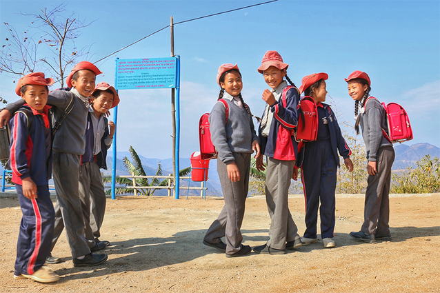"""How a """"Symbol of Learning"""" for Children in Japan Became a Bridge between Japan and Nepal"""