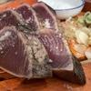 福山市『龍神丸 福山ポートプラザ天満屋店』わら焼き鰹の塩たたき定食
