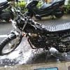 #バイク屋の日常 #ヤマハ #TW225 #洗車 #納車