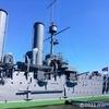 サンクトペテルブルク観光地。ロシア革命の象徴「巡洋艦オーロラ」