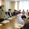 22日被団連が住宅支援を求め県と交渉。県の姿勢は変わらず