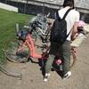 【北海道旅行レポ.8】モエレ沼公園で初めての二人乗り自転車体験