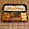 カボチャと鶏挽き肉の煮物弁当