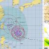 【台風情報】『非常に強い』台風24号は26日21時には『猛烈な』勢力に!最悪の想定では『猛烈な』勢力のまま九州へ上陸・その後本州を縦断!?気象庁・米軍・ヨーロッパの進路予想は?