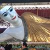 ヤンゴンの涅槃像「チャウッターヂー・パゴダ」@Yangon