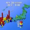 九州北部で記録的大雨