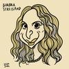 Barbra streisandの似顔絵