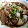 タイ風ビーフヌードル/ビーフスープ食べくらべ