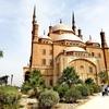 エジプト・カイロ周辺旅行(1) 絢爛なムハンマド・アリー・モスクは街の小高い丘の上