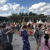 ☆日本のお祭りと娘の誕生日会