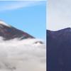 甲府地方気象台が午後2時に富士山の初冠雪を発表!平年より4日早く、昨年より27日早い観測に!9月中に観測されたのは2012年以来6年ぶり!!