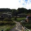 吉野の山中でバイクで山上り